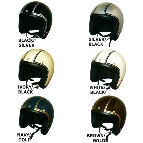 DAMM TRAX JET-J 소형 제트 제 헬멧 디자인 컬러/ダムトラックス 오토바이