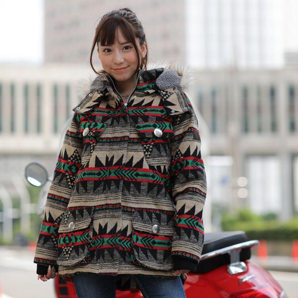 オリオンエース ORIONACE アメダイ AMADAHY インディアン INDIAN レディースジャケット OIM-7166 S/M バイク用 オートバイ バイクウェア ジャケット 防寒 レディース 女性用