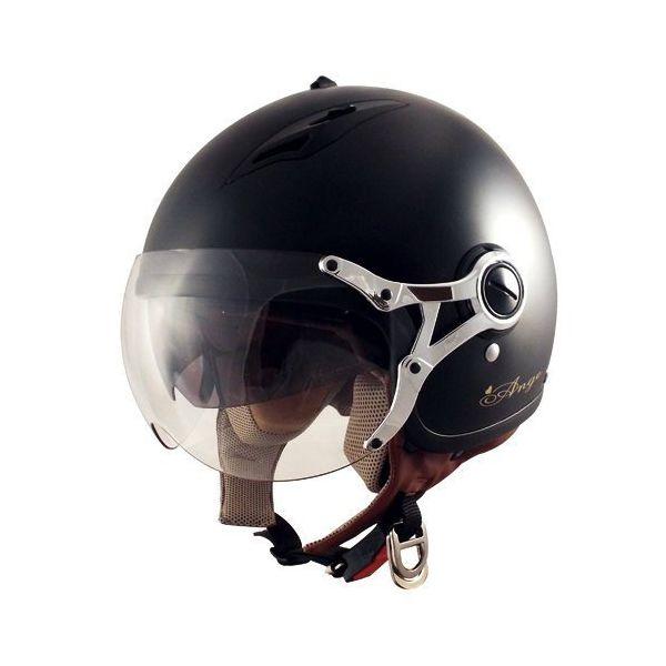 TNK工業 スピードピット SPEEDPIT AG-16 ANGE インナーバイザー付きジェットヘルメット FREE バイク用 オートバイ ヘルメット レディース 女性用