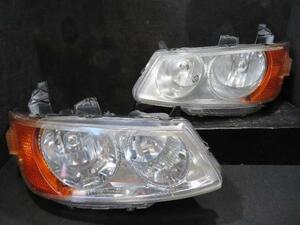 【中古】 ライフ LA-JB3 ヘッド ランプ ライト 左右 ハロゲン 純正 商品ID 5996