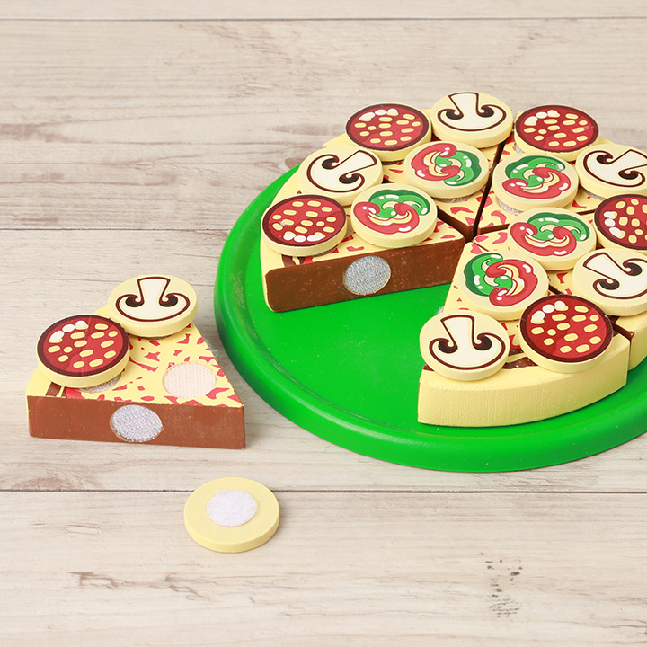 More Than Melissa Doug Pizza Party Md0167 Melissa Doug Wooden Pizza Pizzeria さんごっこ Play Birthday Celebration Gift Present Cat Pos Impossibility