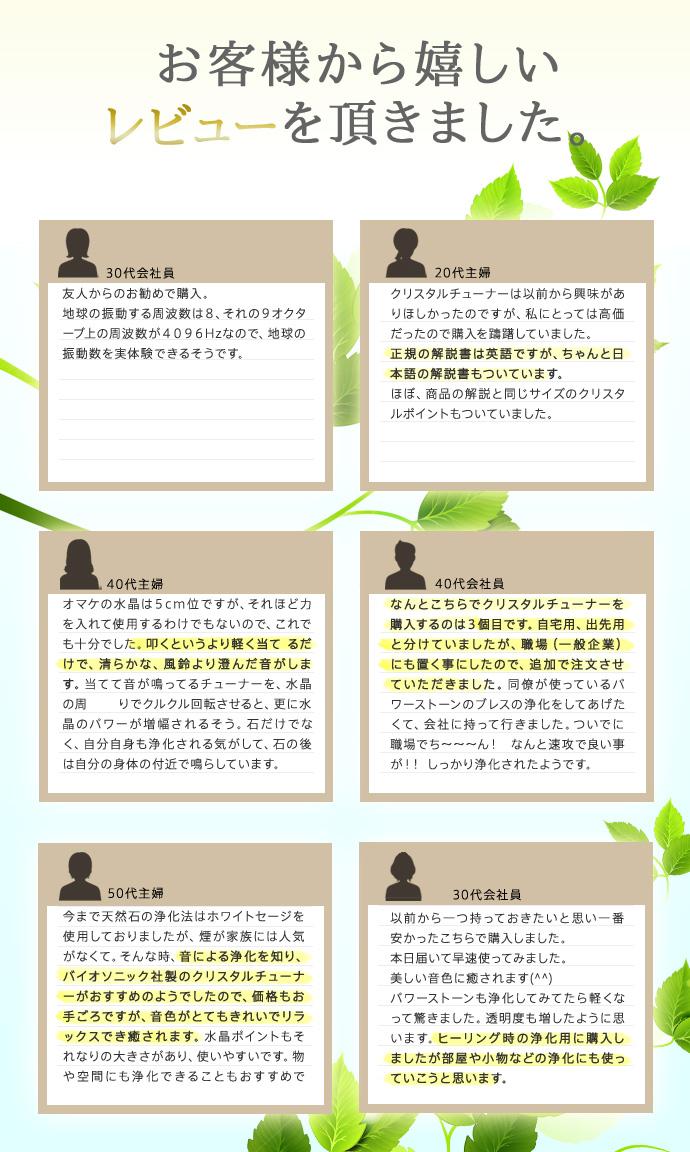 [택배우편]바이오 소닉사 크리스탈 튜너(4096 Hz) 크리스탈 포인트&파우치 ★3000엔 이상(불가)