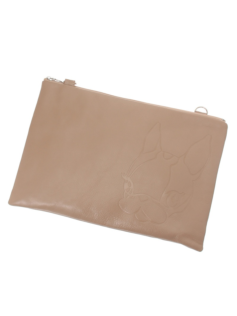 [Rakuten BRAND AVENUE]Leather 2way clutch bag CRYSTAL BALL クリスタルボール バッグ【送料無料】