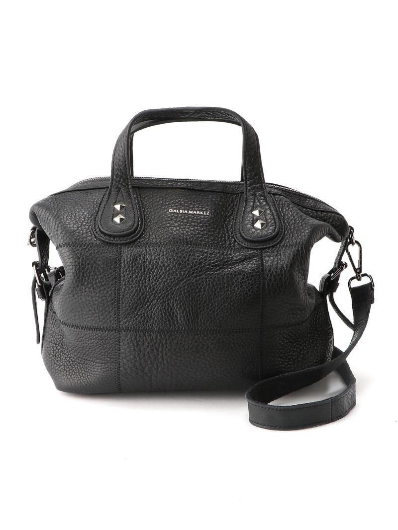 [Rakuten Fashion]GM 3Way Leather Boston bag CRYSTAL BALL クリスタルボール バッグ ボストンバッグ ブラック【送料無料】