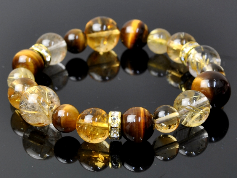 quartz citrine stone global en item or koufukunoisi rakuten store market bracelet natural