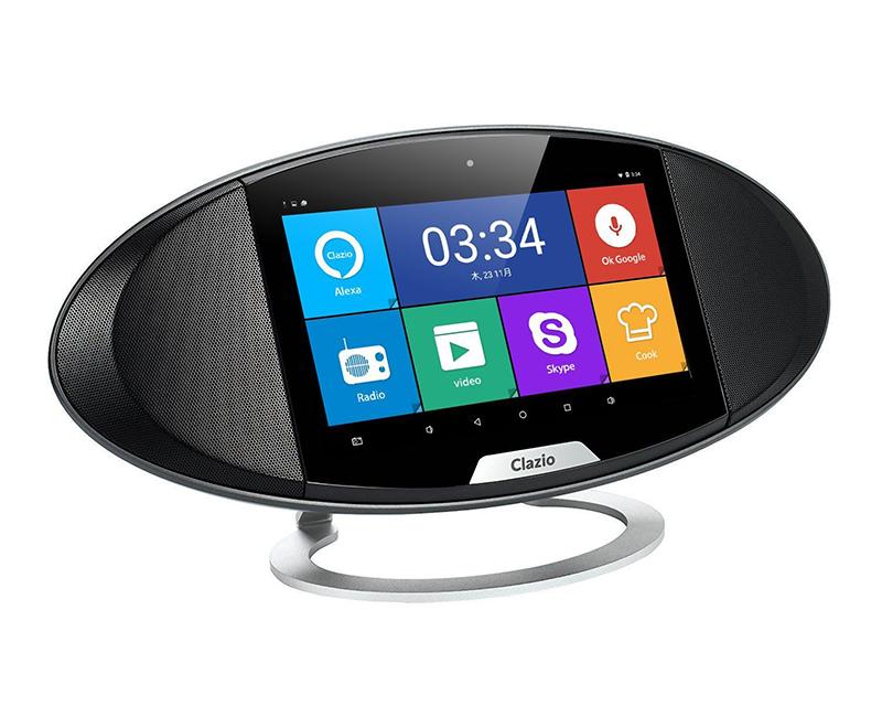 AndroidOS搭載タッチスクリーン付き!マルチメディアスピーカー 音声認識対応OKGoogle、Alexa すぐに活用できるペアセット AIスピーカー タブレット スマートスピーカー