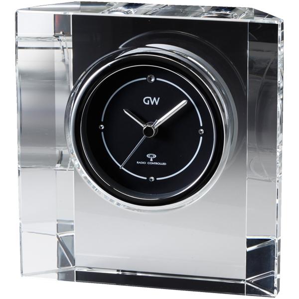 クリスタル電波時計 ステラ グラスワークスナルミ