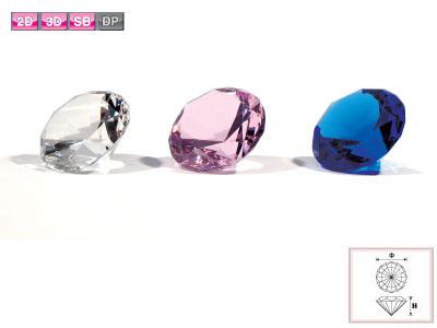多目的な素材です イベント記念や販促品に最適です 安心の実績 高価 購入 買取 強化中 クリスタルマテリアル ダイヤ ブルー小50Φ