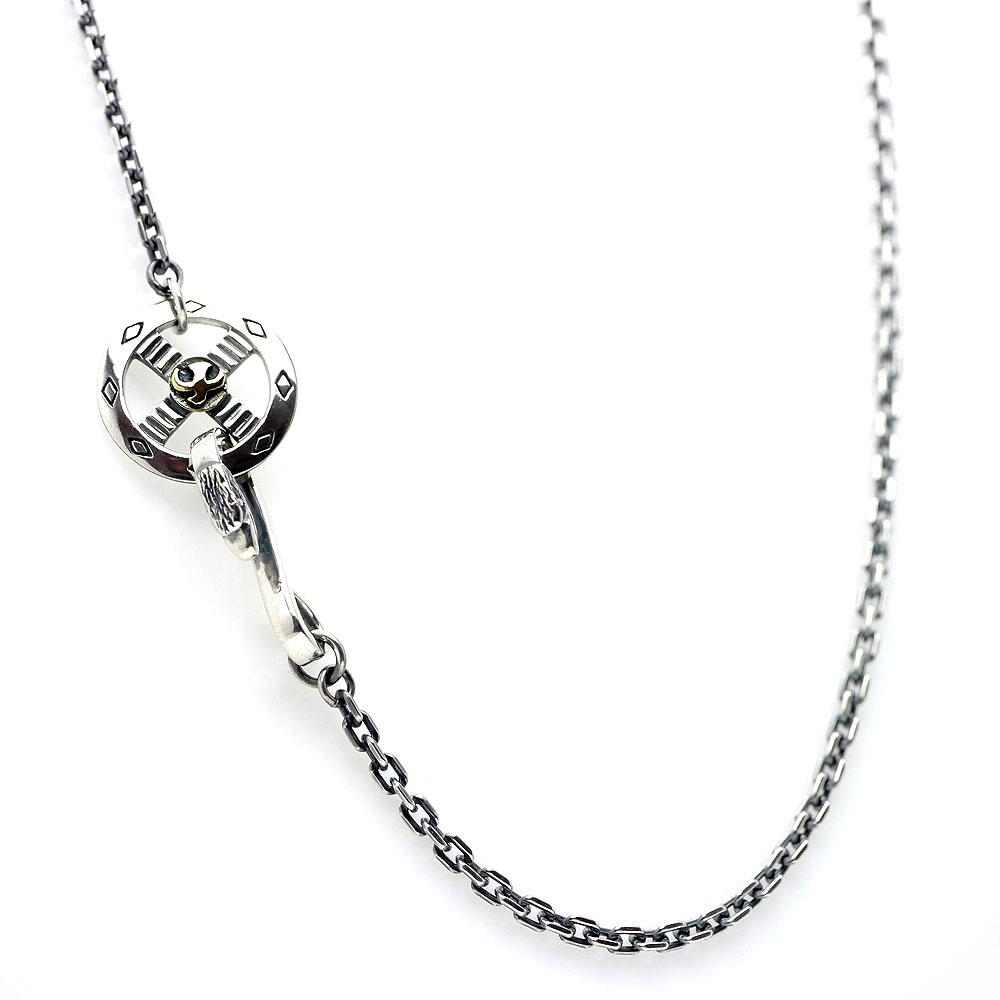 Crystaltec rakuten global market mens necklace chain mens necklace chain medicine wheel silver 925 set 50 cm x 2 mm aloadofball Image collections