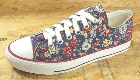 【flower design no,156】●こだわり派の方やコンバースのオールスター派やvans派のオシャレさん必見のスニーカーです!