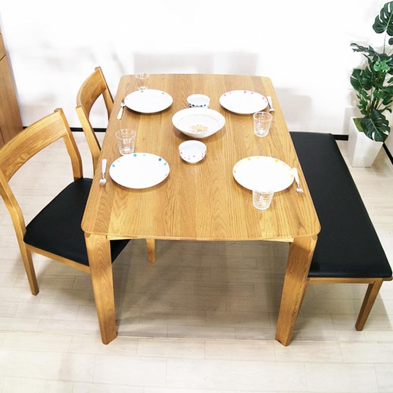 ダイニング4点セット アネモネ ダイニングセット 木製 4人用 ダイニングテーブル ダイニングチェアー テーブル 食卓 食卓テーブル シンプル チェアー チェア 椅子 イス いす 送料無料 10P17Jun17