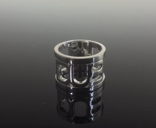 在庫有り[送料無料] DUBリング 指輪 ~Plane open work ring~ DUBj-44 (15号):男女兼用