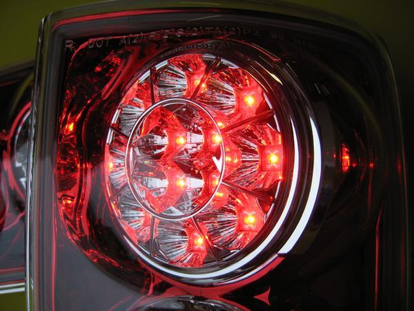 ブレイザーLEDテール 輸入車95-03 CT34GレッドクロームBLAZER LED TAILLAMP