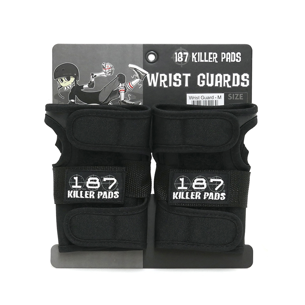 187 KILLER PADS セール特価品 WRIST GUARD スケートボード リストガード スケボー ワンエイトセブンキラーパッド 爆売り GUARDS