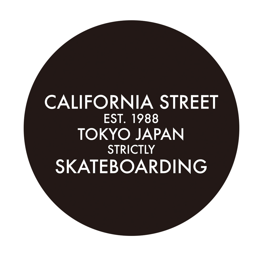 CALIFORNIA STREET STICKER カリフォルニアストリート ステッカー FUTURA FULL DOT 10  スケートボードショップ スケートボード スケボー SKATEBOARD