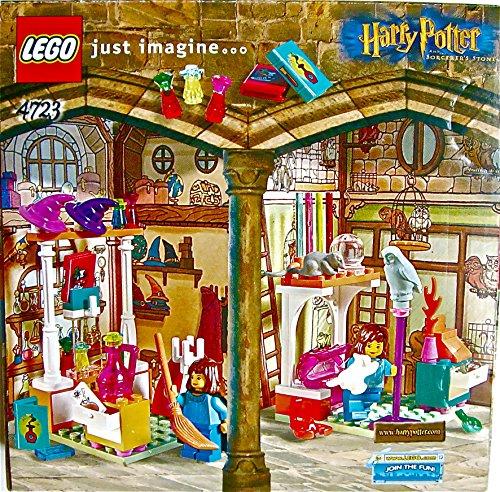 Lego ついに入荷 超人気 専門店 Harry Potter and the Sor Shops #4723 Sorcerer's Diagon Stone Alley