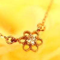 【フラワーネックレス】Thalia・タリア【送料無料】【花】【アンティーク】
