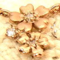 【フラワーネックレス】Eriphyla・エリフィラ【送料無料】【花】【金】【ラブリー】【ダイヤモンド】