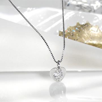 PT900 0.21ct ダイヤモンド ネックレス【送料無料】【ダイヤ】ダイヤペンダント ダイヤモンドペンダント ダイヤネックレス 一粒