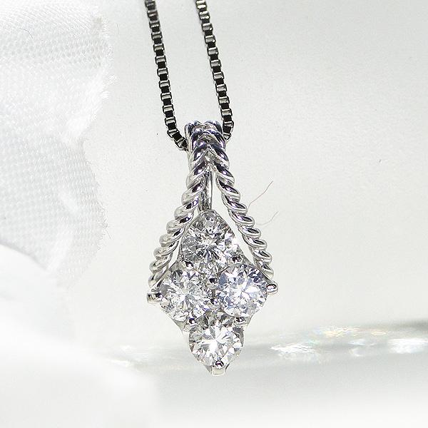 pt900 0.3カラット ダイヤモンドペンダント【送料無料】【ダイヤ】ダイヤネックレス ダイヤモンドネックレス ダイヤペンダント