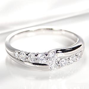 pt900 テン ダイヤモンド リング【0.5ct】 /おしゃれ 人気 プラチナ ダイア ダイヤ エタニティ 0.5カラット sweet 10 指輪 レディース ジュエリー ギフト プレゼント diamond platinum ring 10周年 記念日 スイート