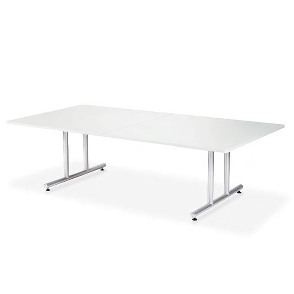 【送料無料】会議用テーブル 幅2400×奥行1200 角形 AICO(アイコ) 【個人宅不可】DWS-2412K