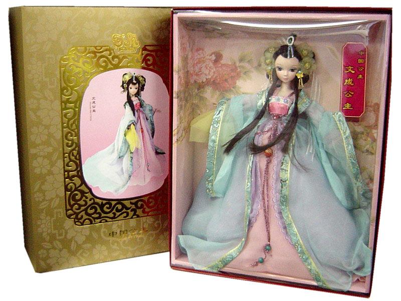 【可儿娃娃クーリャンドール】 文成公主
