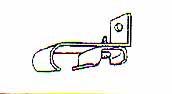 安い 激安 プチプラ 高品質 期間限定特価品 C型カーテンレール用正面シングルブラケット