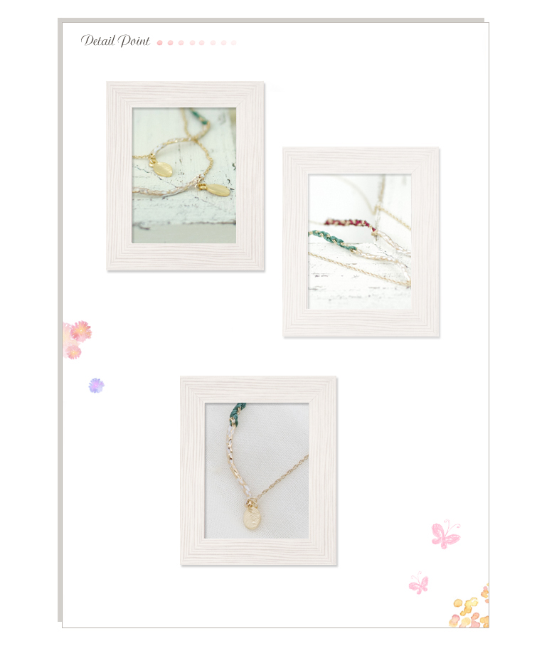 Leafmochieftwistnecklace ★ shipping b-( 9 ) * returned goods cannot be exchanged
