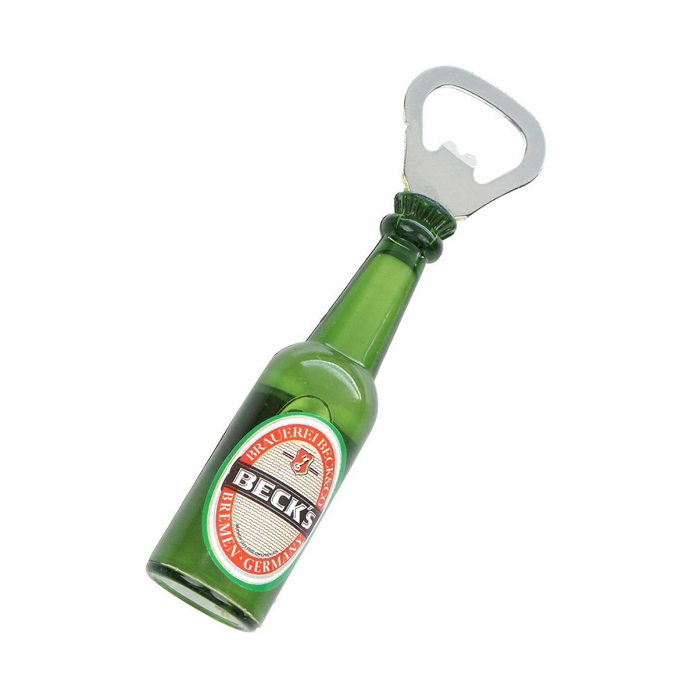 デザインオープナー 栓抜き マグネット付 (BECK'S)  レトロ インテリア 海外ビール ブランド メーカー おしゃれ プレゼント ギフト 磁石