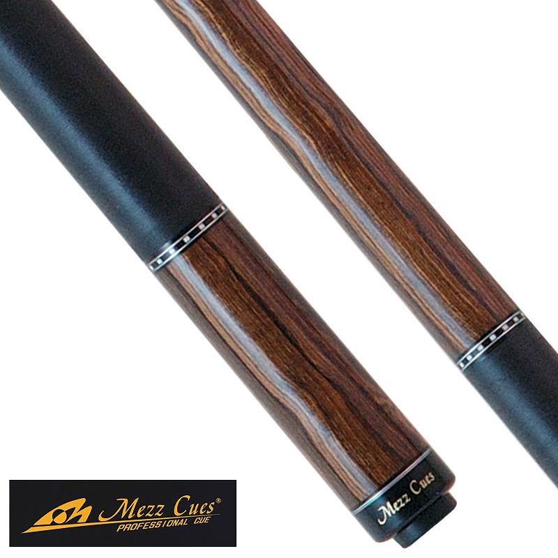 ビリヤード キュー Mezz EC7-B (WX700シャフト装備) 定番 人気 マイキュー イーシーセブン 国産 国内 ブランド メーカー メッズ メッヅ 銘木 シンプル デザイン 木目