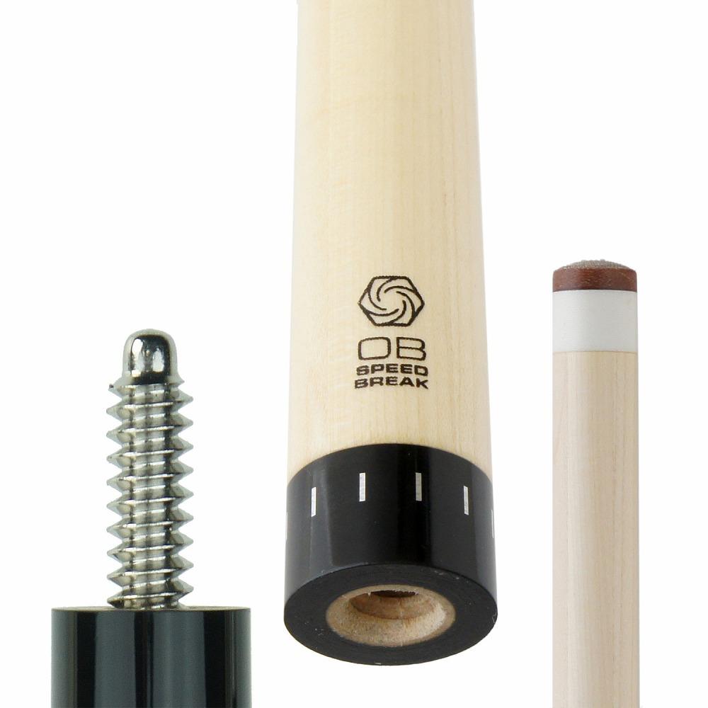 ビリヤード シャフト OBブレイク シャフト SPEED BREAK SBS+ スピードブレイク 3/8-10山 交換 前部分 前側 shaft メープル レベルアップ テーパー 技術向上 装備 装着 脱着 取替え プレゼント キレ パワー オービー