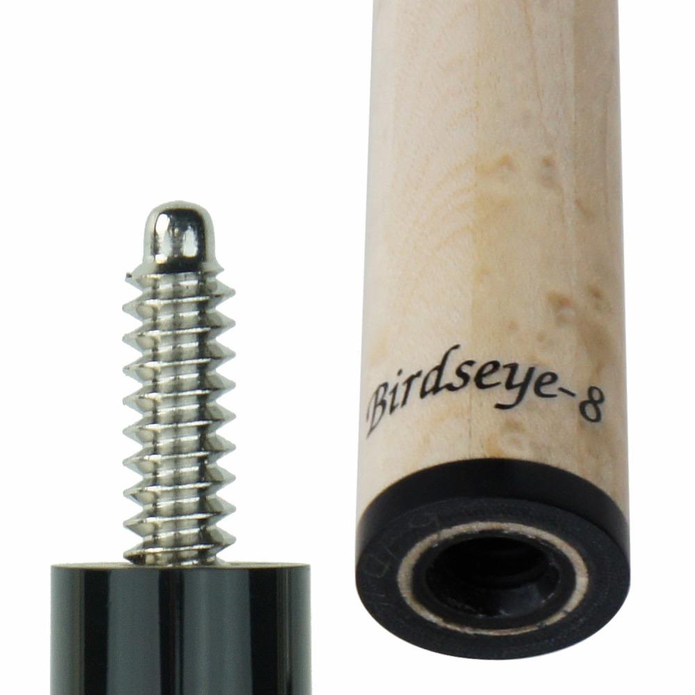ビリヤード シャフト Sasaki ササキシャフト バーズアイ8 Birdseye-8 10山フラット (ポケット用) 交換 前部分 前側 shaft メープル レベルアップ テーパー 技術向上 装備 装着 脱着 取替え プレゼント キレ パワー 佐々木 メープル 木目