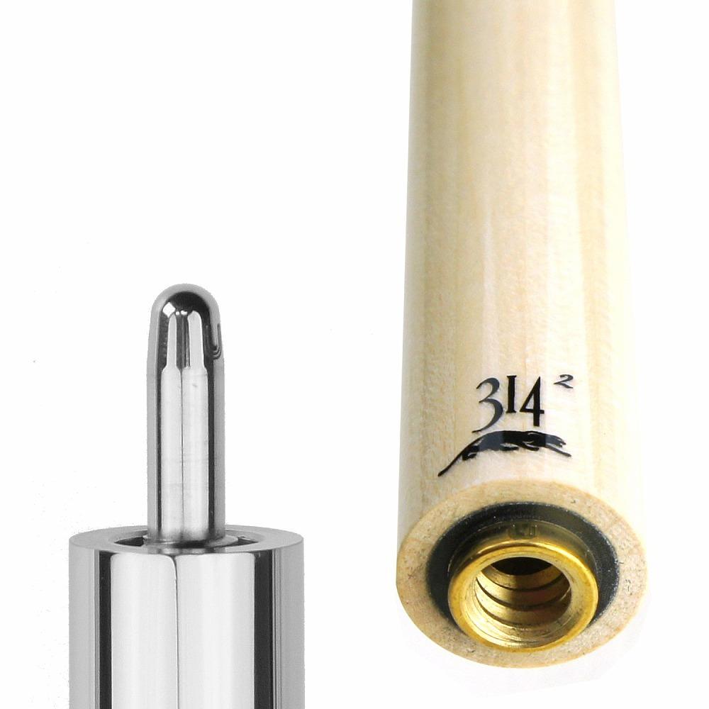 ビリヤード シャフト 314-2 (ユニロック-装飾リング無) 交換 前部分 前側 shaft メープル レベルアップ テーパー 技術向上 装備 装着 脱着 取替え プレゼント キレ パワー プレデター Predator ハイテク