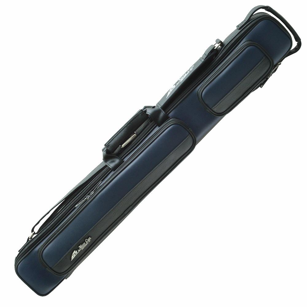 ビリヤード キューケース 送料無料 Mezz MZ-24B 青 ブルー (バット2本シャフト4本収納) 国内 国産 メーカー ブランド メッズ メッヅ コスパ 人気 保護 軽量 レザー おしゃれ デザイン 収納