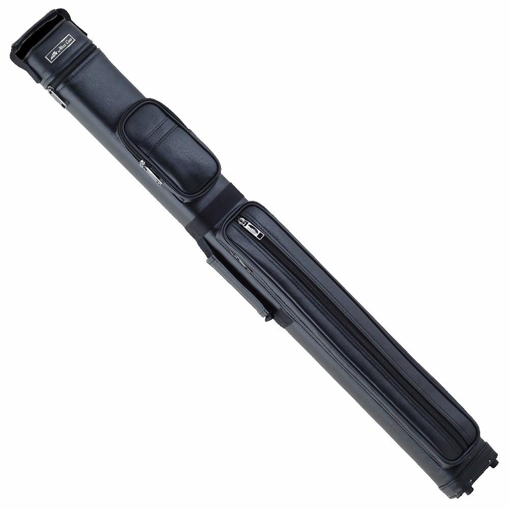 ビリヤード キューケース Mezz MO-23K ブラック (バット2本シャフト3本収納) 国内 国産 メーカー ブランド メッズ メッヅ コスパ 人気 保護 軽量 レザー おしゃれ デザイン 収納