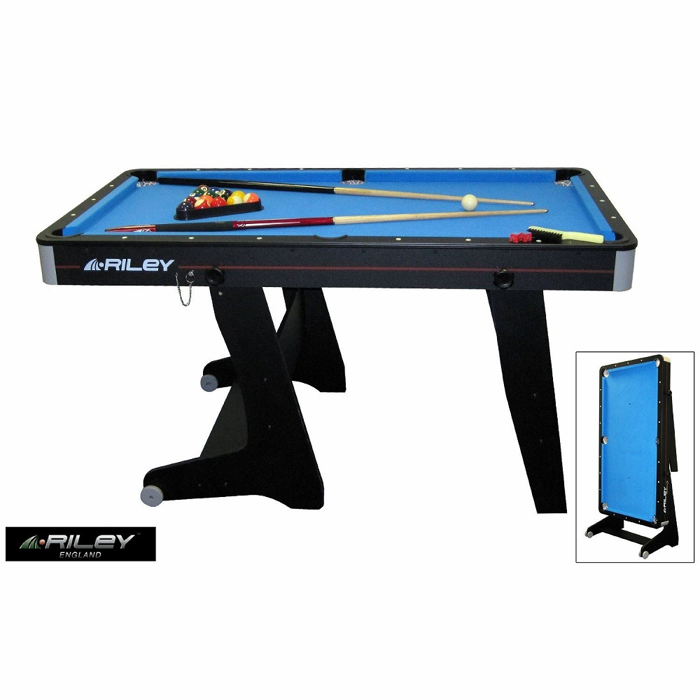 5 Feet Of Billiards Stands With Home Billiard Table FP 5B Foldup Made In  Space Saving Home U.K. RILEY