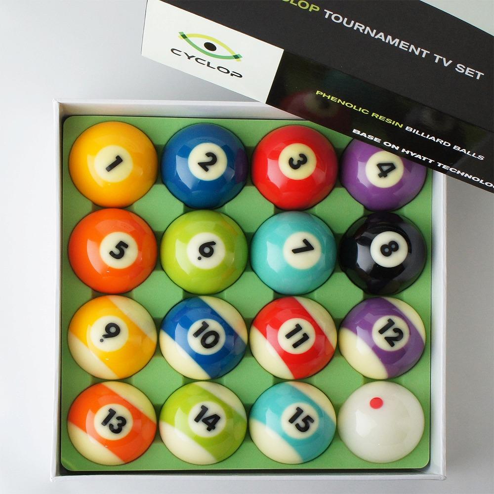 ビリヤード ボール セット サイクロップ 手玉ドット CYCLOP ボールセット (箱/16個入)
