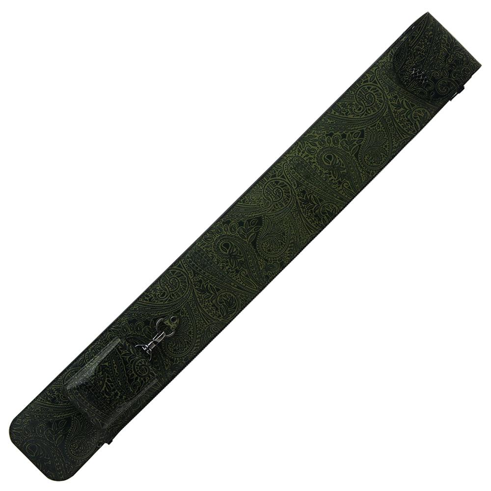 ビリヤード キューケース Legend レジェンド 1B2S グリーン ポケットショルダー付
