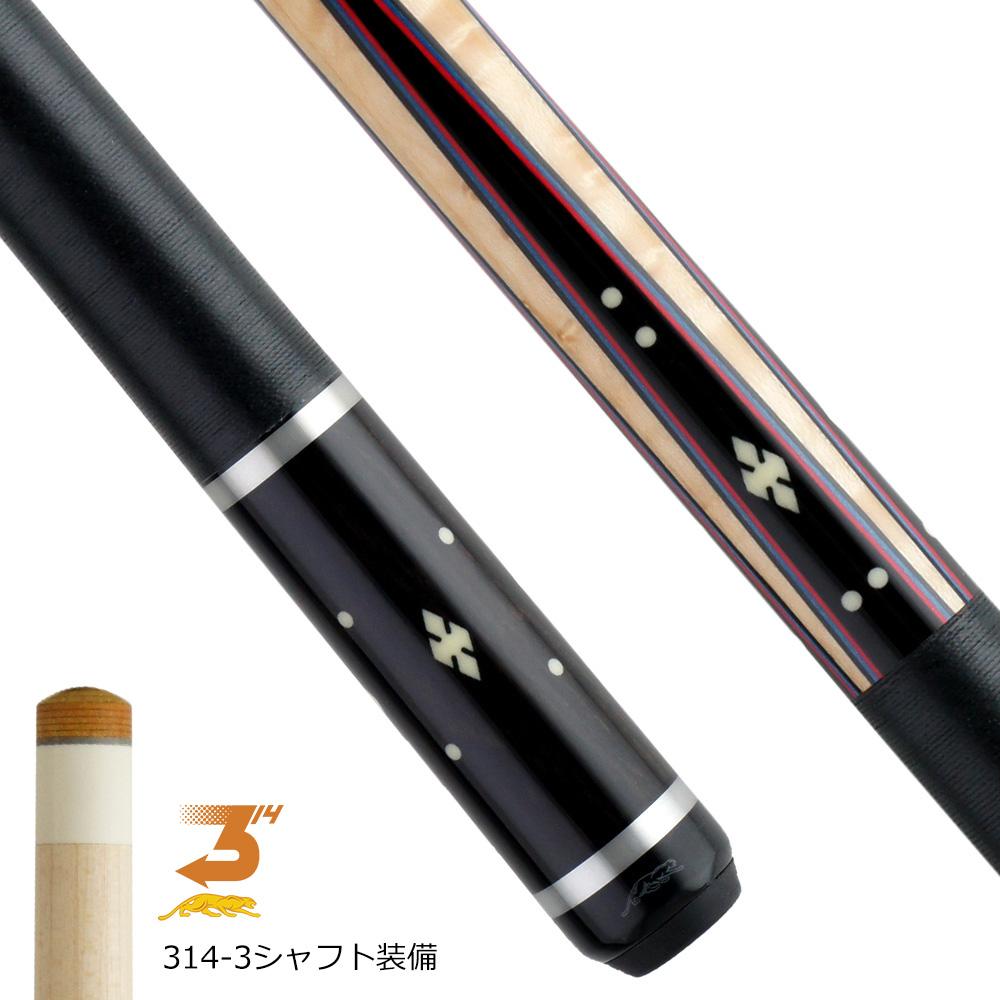 【限定】 ビリヤード キュー プレデター Willie526-1 ラジアル (314-3シャフト装備)