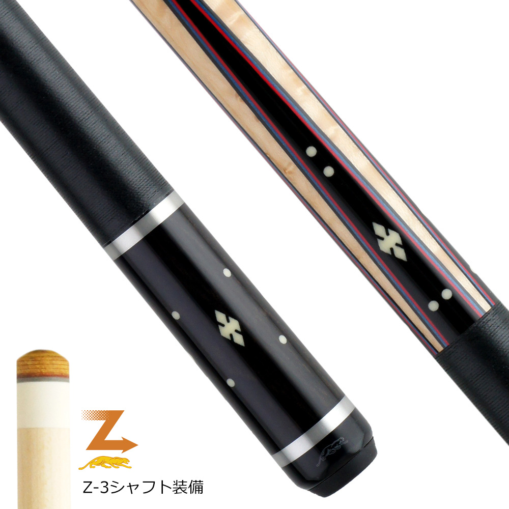 【限定】 ビリヤード キュー プレデター Willie526-1 ラジアル (Z-3シャフト装備)