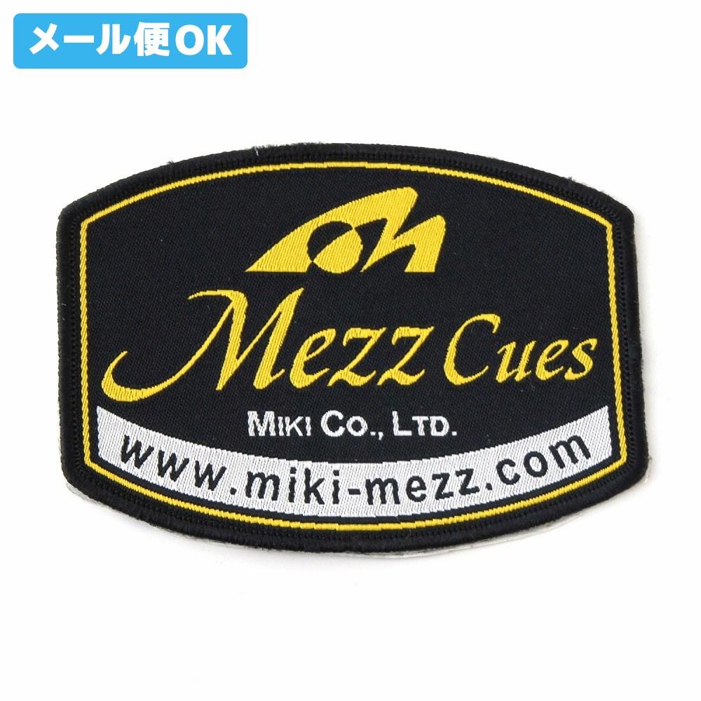 オリジナル メール便可 ビリヤード ワッペン MEZZ 日本最大級の品揃え 楕円型