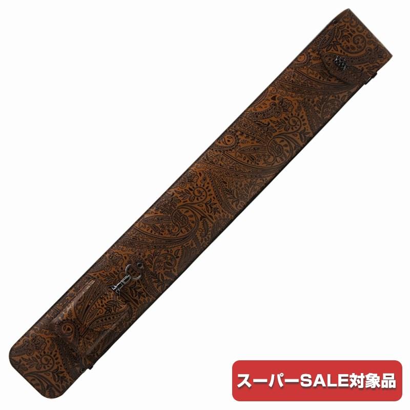 [スーパーSALE対象商品] ビリヤード キューケース Legend レジェンド 1B2S ブラウン ポケットショルダー付