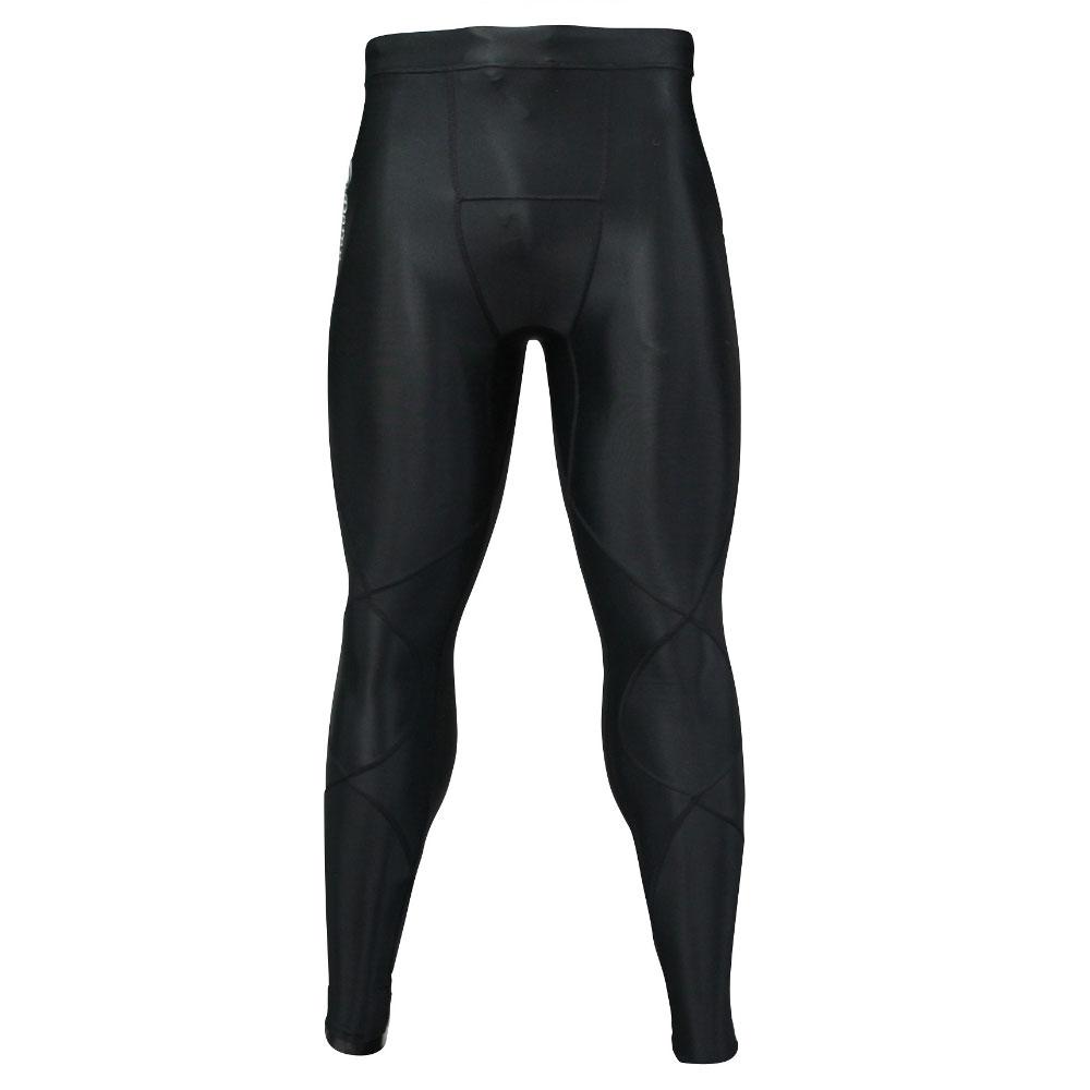 Doron・ドロン 男性用 ロングタイツ ブラック S,M,L,XL (SOFTシリーズ)