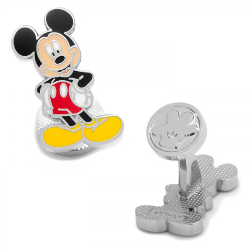 Disney ミッキーマウス カフス カフリンクスメンズアクセサリーの通販ギフト プレゼント お祝い 結婚式 ビジネス 新生活 父の日 彼氏 夫 バレンタイン