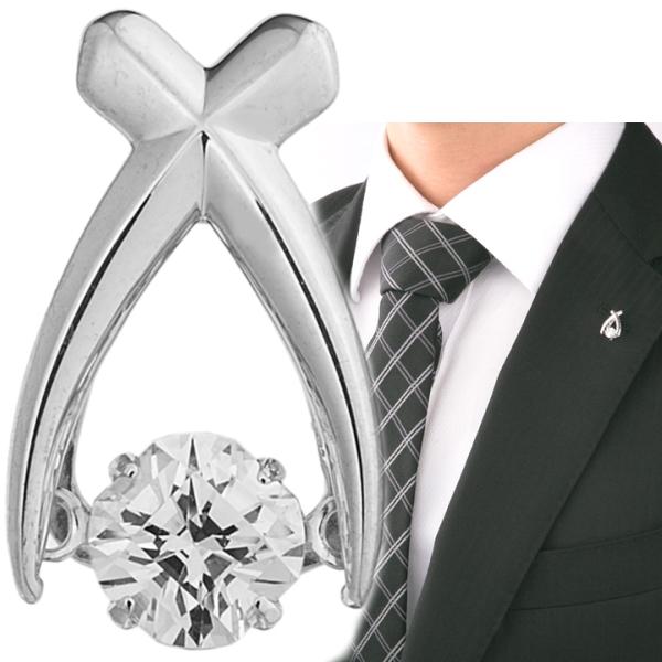 Crossforクロスフォー Jupiter2 ラペルピン メンズ ブローチ NY-T013 日本製 ブランド 結婚式 スーツアクセサリー専門店 父の日 ギフトにも 男性 ブライダル 披露宴 二次会 お呼ばれ パーティー おしゃれ カフスマニア