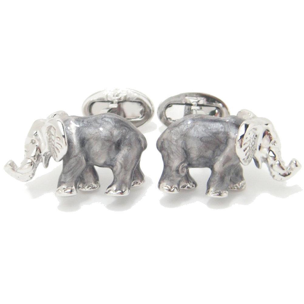 米国 ブランド マーブリングで独特な魅力の象のカフス jl23 スーツアクセサリー専門店 誕生日 プレゼント プチギフト おしゃれ カフスマニア