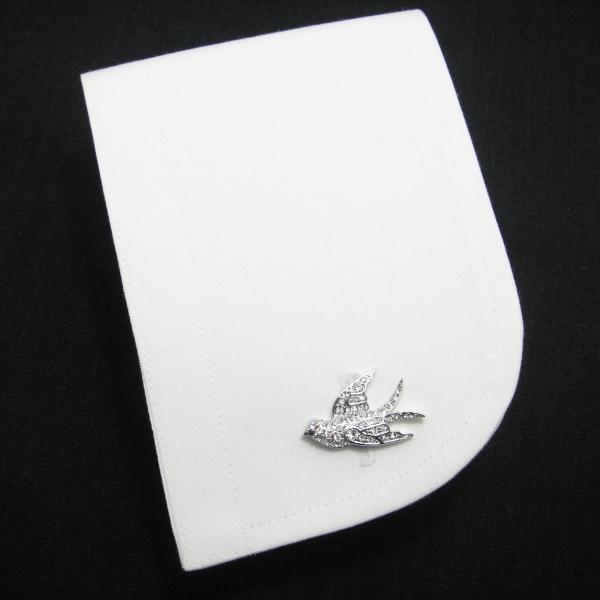 크리스탈・스와로의 커프스(카후린크스/커프스 버튼/cufflinks/cuffs/맨즈/남성)