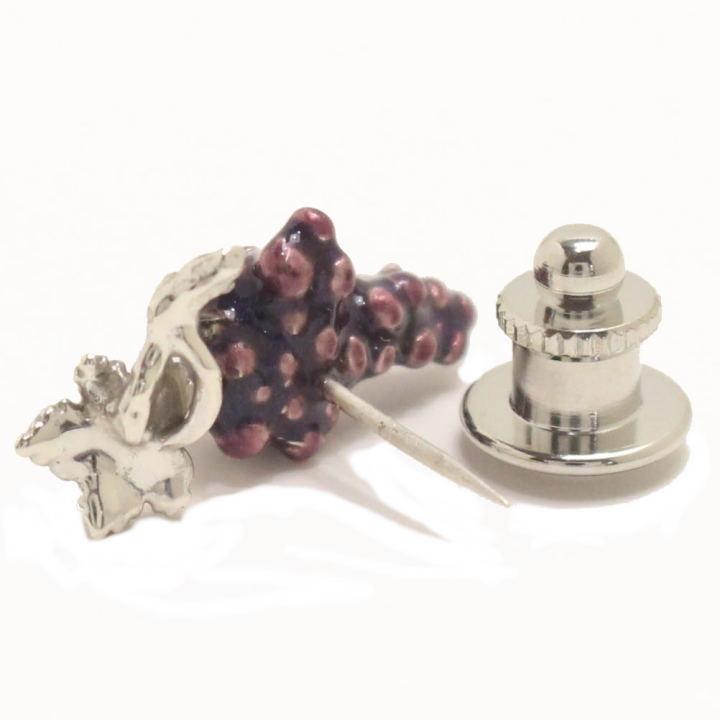 SATURNO サツルノ grape grape lapel pin pin broach correspondence