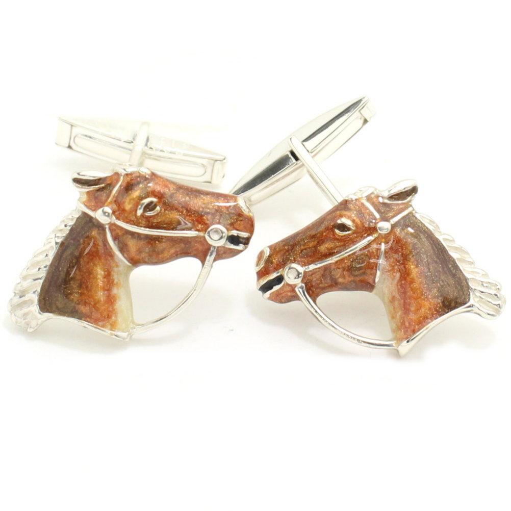 SATURNO サツルノ サラブレッド馬の横顔 カフス カフスボタン カフリンクス cufflinks cuffs メンズ 男性 ユニーク おもしろ 面白 面白い 動物 植物シリーズ スーツアクセサリー専門店 父の日 ギフトにも 誕生日 プレゼント プチギフト おしゃれ カフスマニアdhrCtsQ